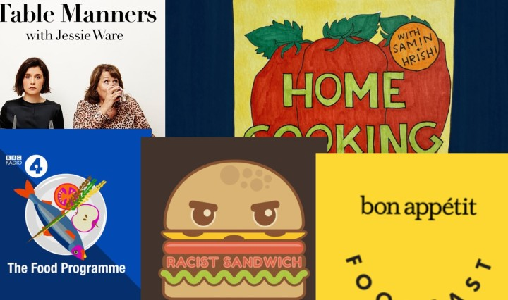 Engelse foodpodcasts