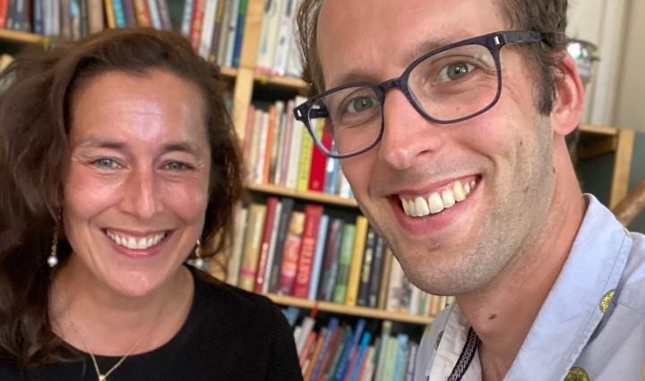 Katinka Lansink-Dodero en Zegert van der Linde